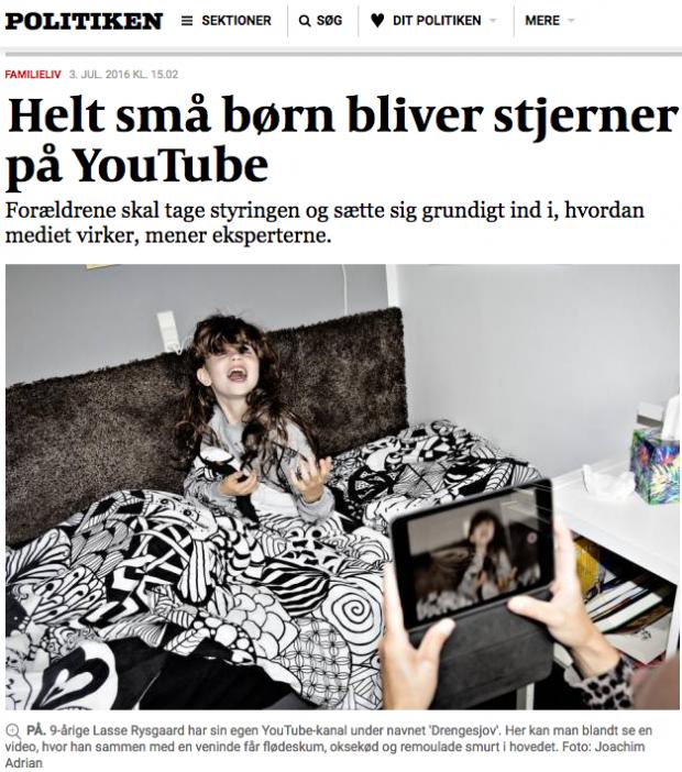 YouTubeStjerner